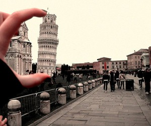 italy, photography, and Pisa image