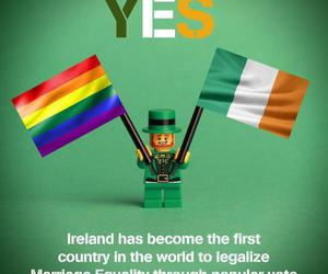 equality, ireland, and proud image