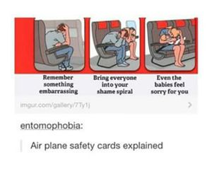 airplane, funny, and jokes image