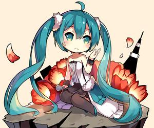 anime, chibi, and girl image