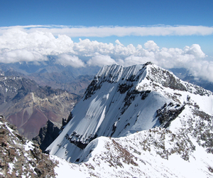 argentina, mountains, and aconcagua image