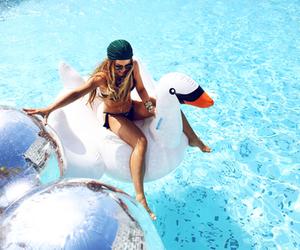 fashion, pool, and pretty image
