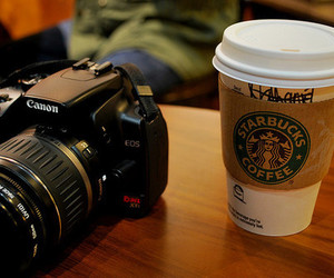 starbucks, photography, and canon image