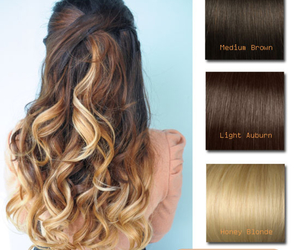 ombre, ombrehair, and blondeombre image