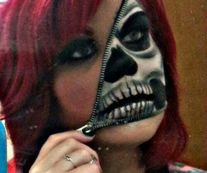 Halloween, make up, and red hair image