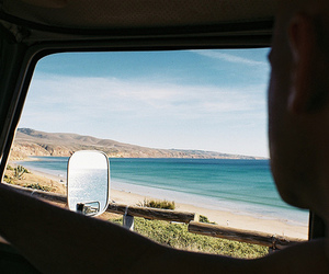 car, beach, and summer image