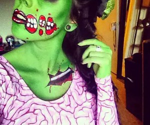 Halloween, zombie, and scary image