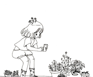 art, plants, and cute image