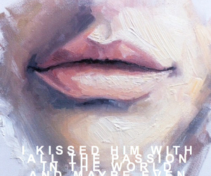 aesthetic, kiss, and lips image