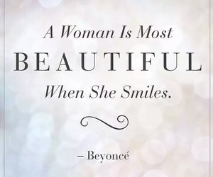 beyoncé, quotes, and smile image