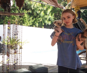 nature, lily rose melody depp, and twitter icons image