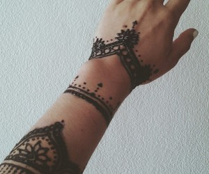 design, henna, and indie image