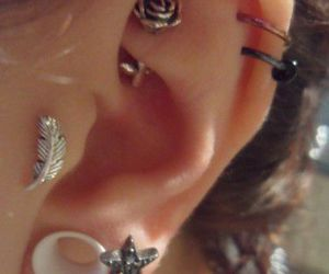 awesome, jewellery, and piercing image