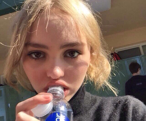 site model, lily rose melody depp, and twitter icon image