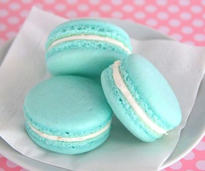 food, macarons, and cute image