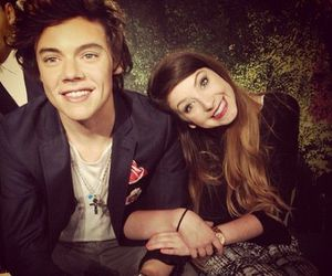Harry Styles, zoella, and one direction image