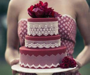 cake, decorations, and party image