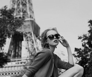 paris, girl, and fashion image