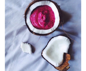food, coconut, and healthy image