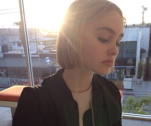 grunge, site model, and lily rose melody depp image