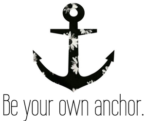 anchor, quote, and own image