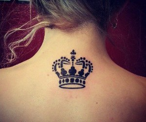 tattoo, Queen, and crown image