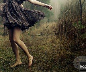 dress, feet, and ground image