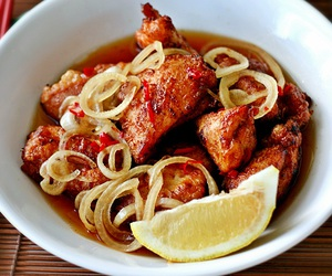 Chicken, chilli, and japanese food image