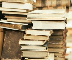 beautiful, books, and old image