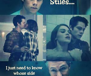 holland roden, scorch trials, and malia hale image