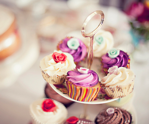 cupcake, food, and sweet image