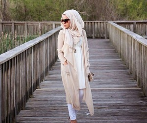 fashion, hijab, and modest image
