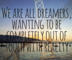 dreamers and quote image