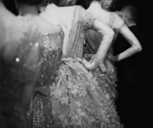 dress, model, and elie saab image