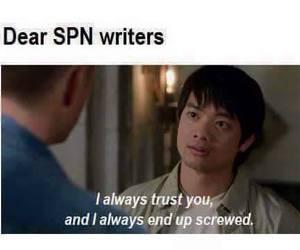 supernatural, spn, and kevin tran image