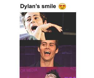 smile, dylan o'brien, and teen wolf image