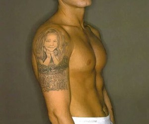 nike, hailie jade, and tattoo image