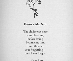 poem, love, and forget image