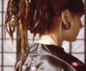 cool, dreads, and girl image