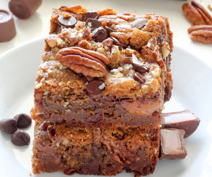 chocolate, food, and pecan image