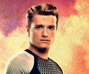 handsome, josh hutcherson, and catching fire image
