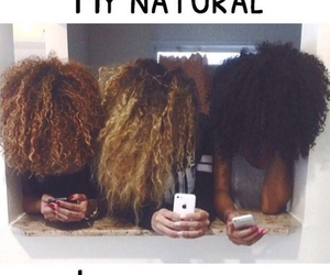 hair and natural image