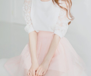 fashion, kfashion, and pink image