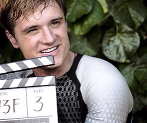 the hunger games, josh hutcherson, and catching fire image