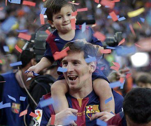 messi, fc barcelona, and Thiago image