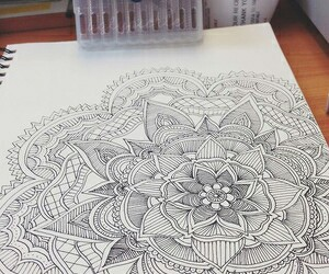 art, arte, and mandala image