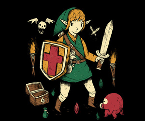 gaming, legend, and link image