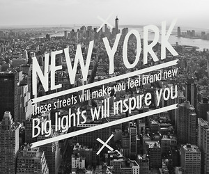 new york, nyc, and quote image