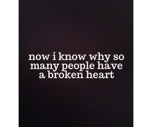 broken, broken heart, and sad image