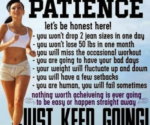 fitness, motivation, and patience image
